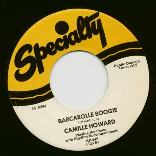 Barcarolle Boggie - X-Temporaneous Boogie (7inch, 45rpm)
