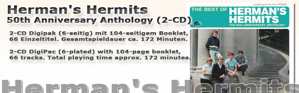 Herman's Hermits 50th Anniversary Anthology (2-CD)