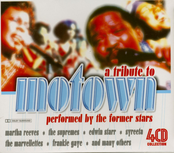 A Tribute To Motown (4-CD)