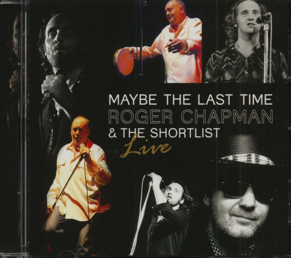 Maybe The Last Time - Live (CD)