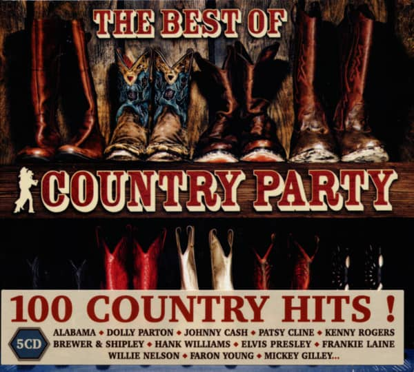 Country Party - Best Of (5-CD)