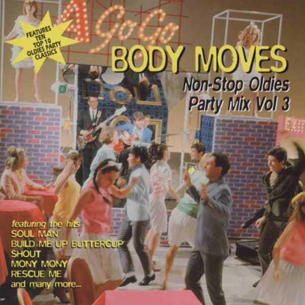 Body Moves - Non-Stop Oldies Party Mix Vol.3