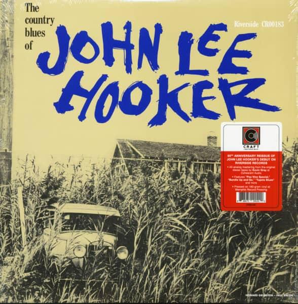 The Country Blues Of John Lee Hooker (LP, 180g Vinyl)