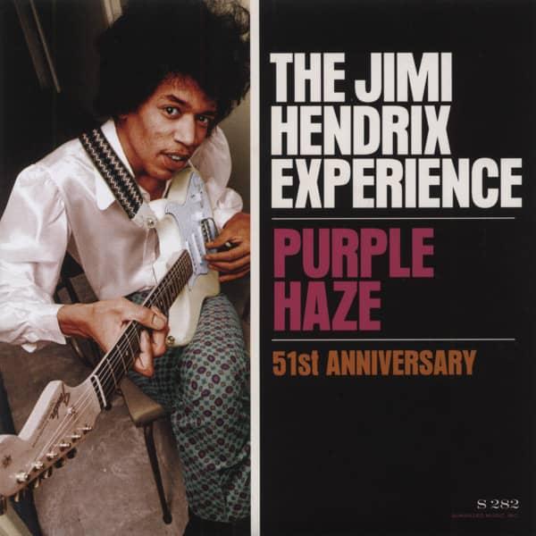 Purple Haze b-w 51st Anniversary 7inch, 45rpm, PS, mono