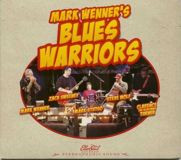 Mark Wenner's Blues Warriors (CD)