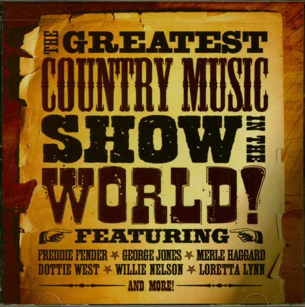 The Greatest Country Music Show In the World! (CD)