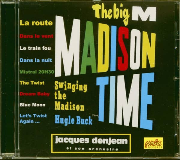 The Big M - Madison Time (CD)