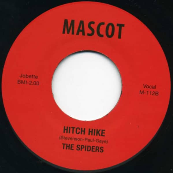 Hitch Hike - Why Don't You Love Me 7inch, 45rpm