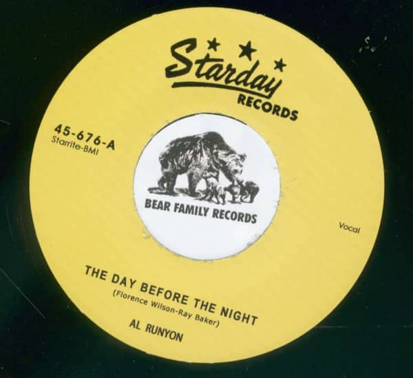 Baby Please Come Home - The Day Before The Night (7inch, 45rpm)