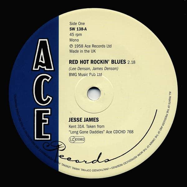 Red Hot Rockin Blues 7inch, 45rpm Limited Editon