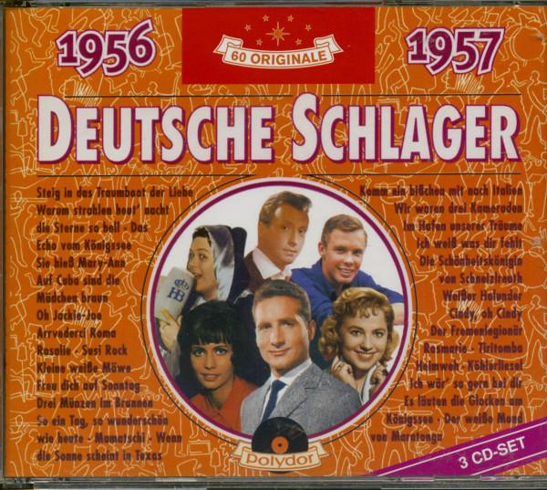Deutsche Schlager 1956-1957 3-CD