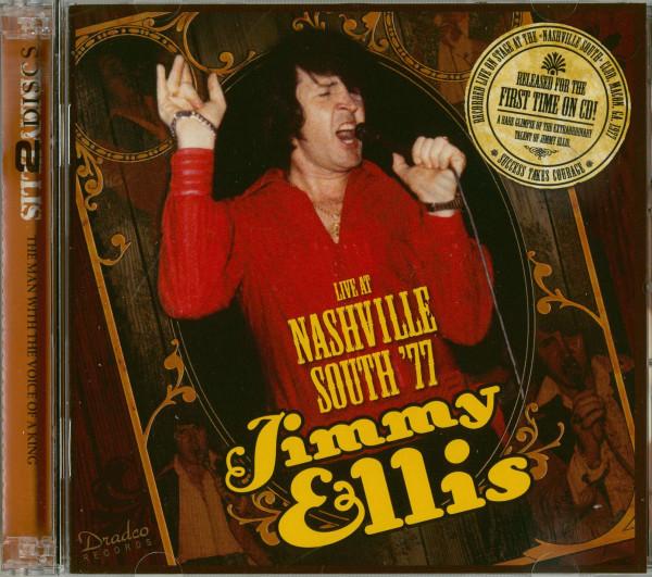 Jimmy Ellis Live At Nashville South '77 (2-CD)