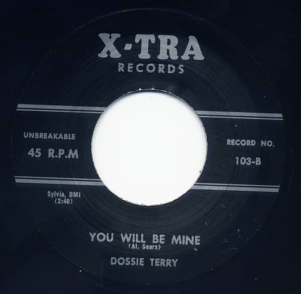 Railroad Section Man - You Will Be Mine 7inch, 45rpm