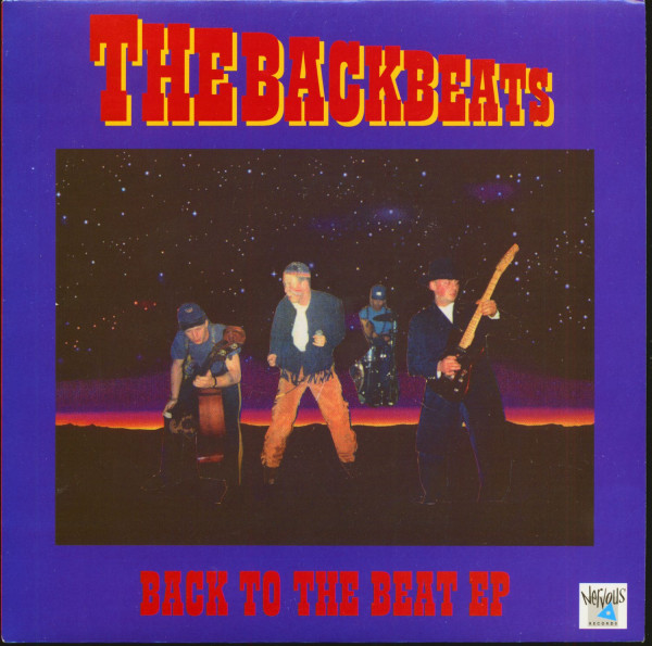 Back To The Beat EP (7inch, EP, 45rpm, PS, SC)