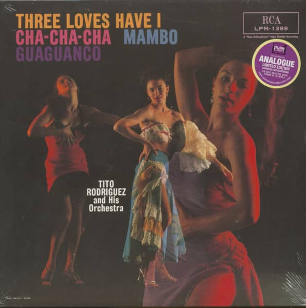 Three Loves Have I - Cha-Cha-Cha, Mambo, Guaguanaco (LP, 180g Vinyl)