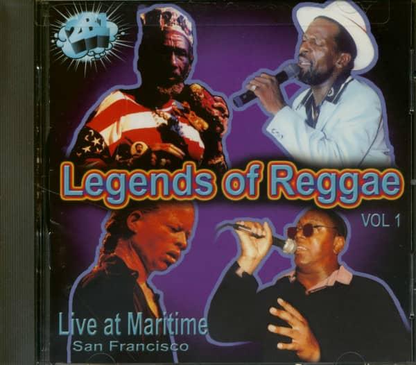 Legends Of Reggae Live At Maritime San Francisco (CD)