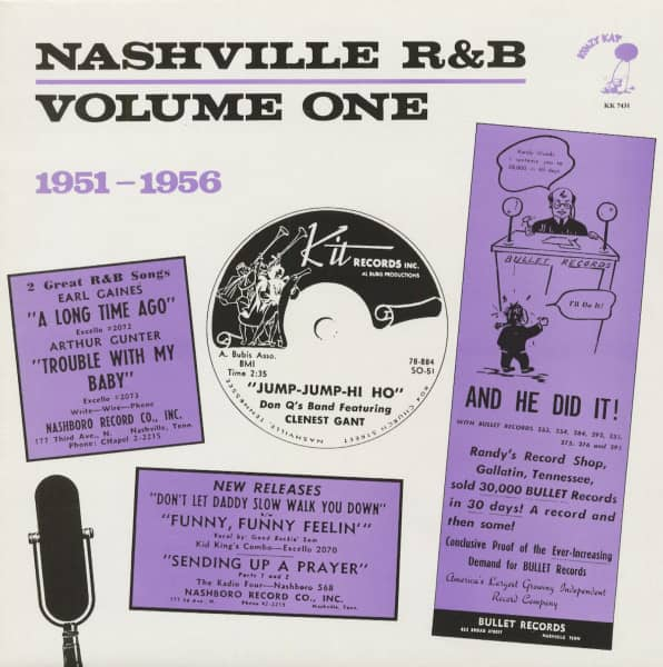 Nashville R&B Vol.1 (LP)