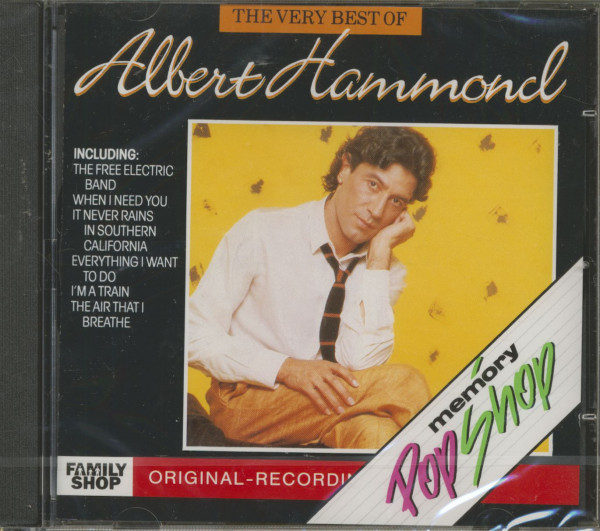 The Very Best Of Albert Hammond (CD)