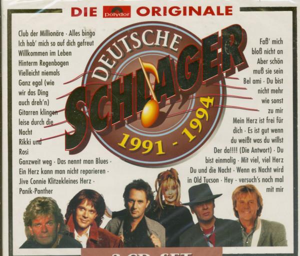 Deutsche Schlager 1991-1994 (3-CD)