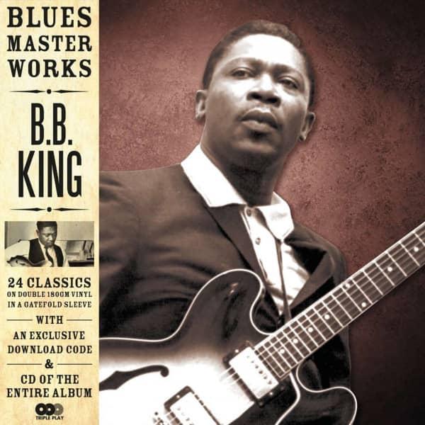 Blues Master Works (180g Vinyl, 2- LP, 1 CD)