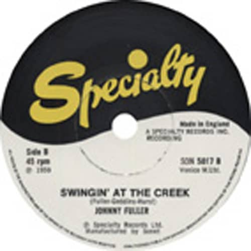 Haunted House - Swingin' At The Creek 7inch, 45rpm, SC