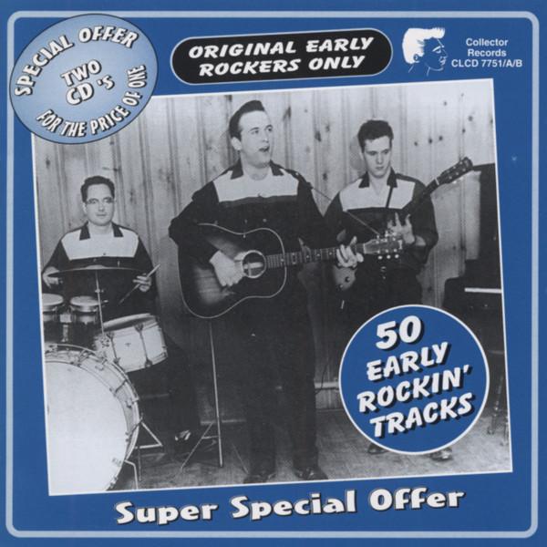 50 Early Rockin' Tracks 2-CD