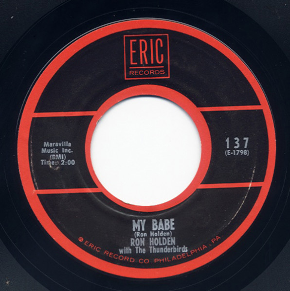 My Babe - Love You So 7inch, 45rpm