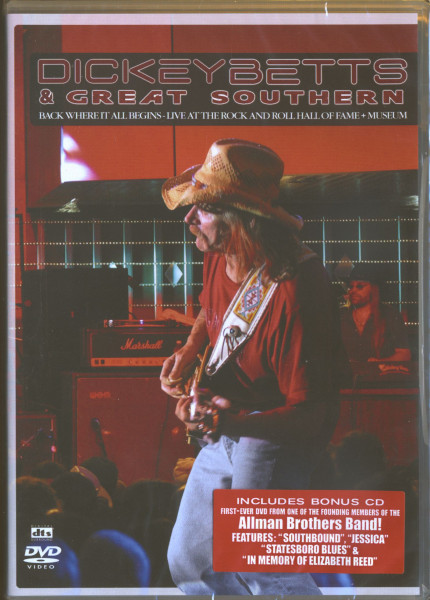 Back Where It All Begins - Live At The Rock'n'Roll Hall Of Fame (DVD)