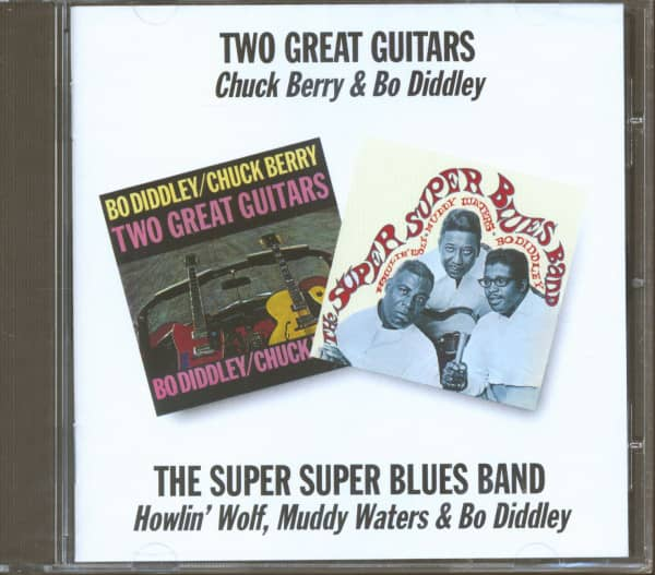 Two Great Guitars - The Super Super Blues Band (CD)