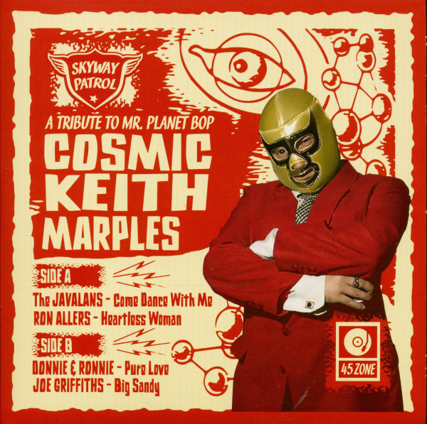 Tribute To Mr. Planet Bop Cosmic Keith (7inch, EP, 45rpm, PS, SC)