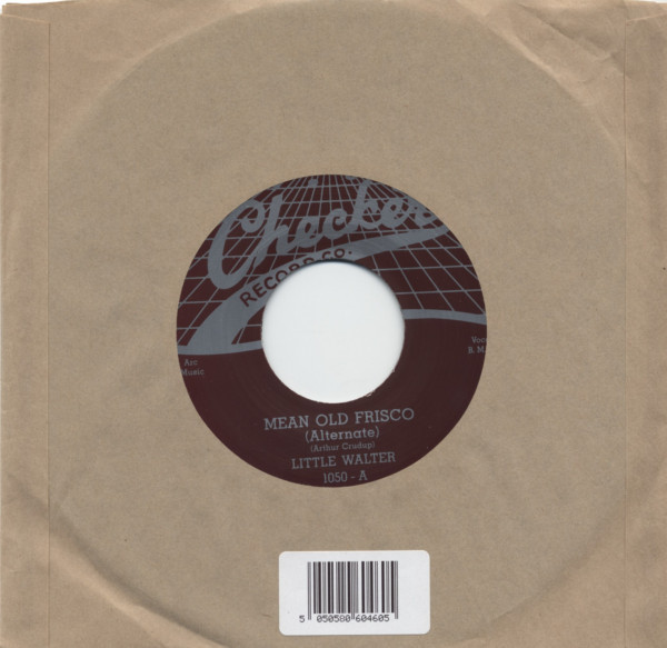 Mean Old Frisco b-w Come Back Baby 7inch, 45rpm