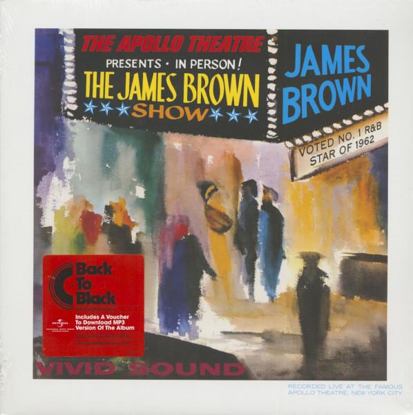 James Brown Live At The Apollo (LP, 180g Vinyl)