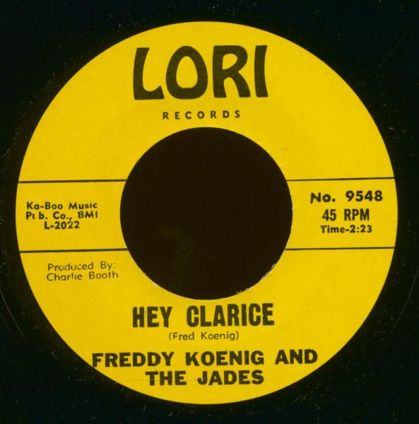 Hey Clarice - One Last Teardrop (7inch, 45rpm)