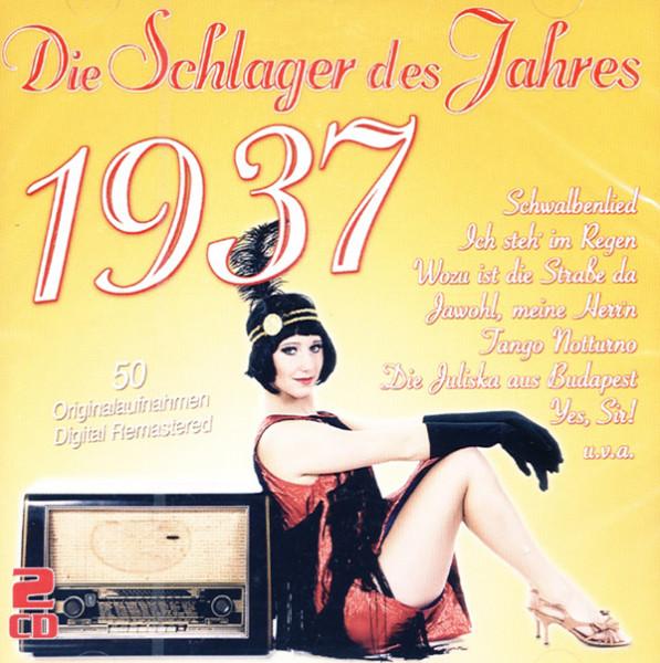 Die Schlager des Jahres 1937 (2-CD)