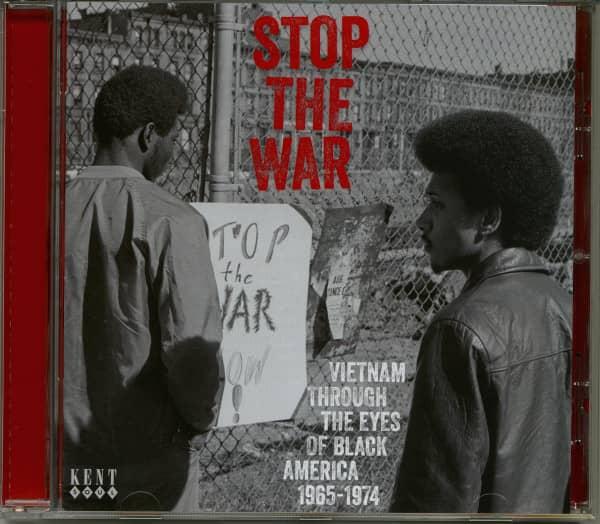 Stop The War-Vietnam Through The Eyes Of Black America 1965-1974 (CD)