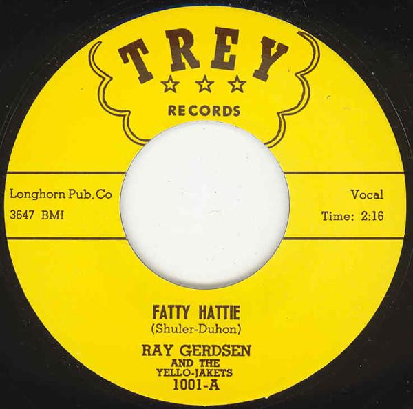 Fatty Hattie - I Love You 7inch, 45rpm