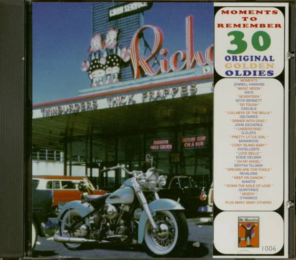 Moments To Remember - 30 Original Golden Oldies Vol.6 (CD)