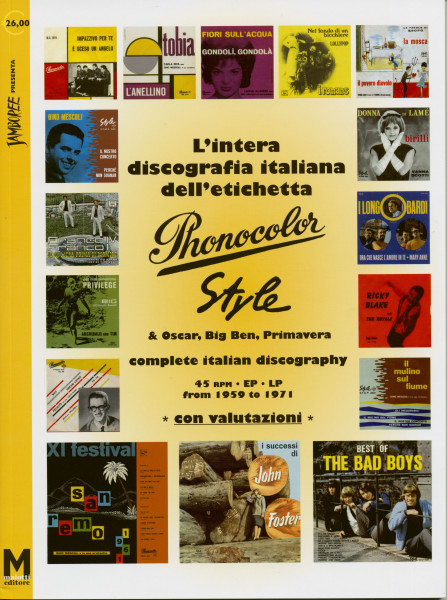 Phonocolor Records - Complete Italian Discography 1959-1971