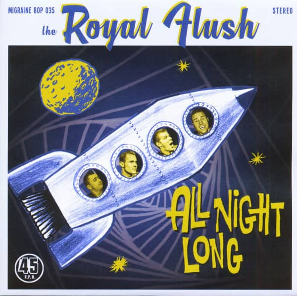 All Night Long (7inch, 45rpm, PS, Ltd.)