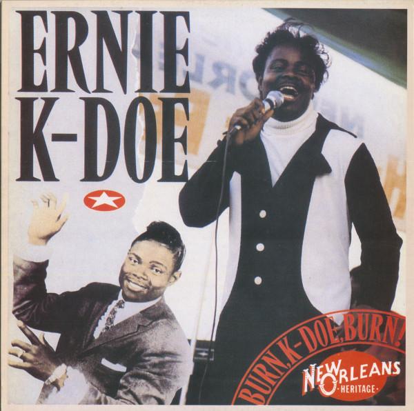 Burn, K-Doe, Burn (LP)