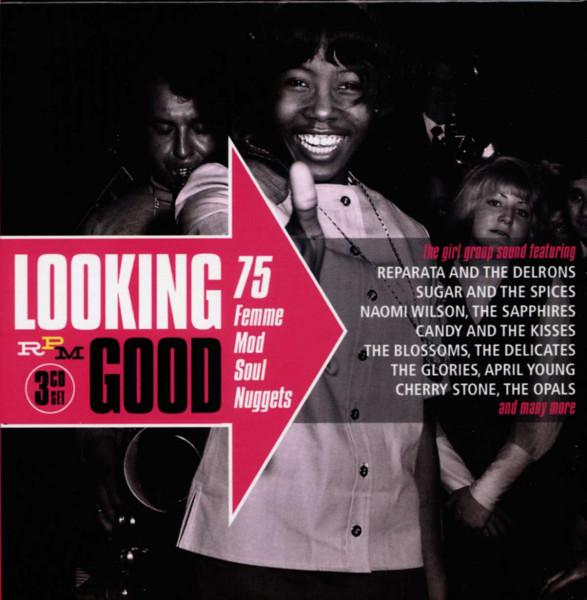 Looking Good 75 Femme Mod Soul Nuggets (3-CD)