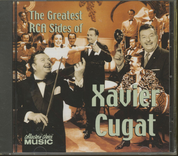 The Greatest RCA Sides Of Xavier Cugat (CD)