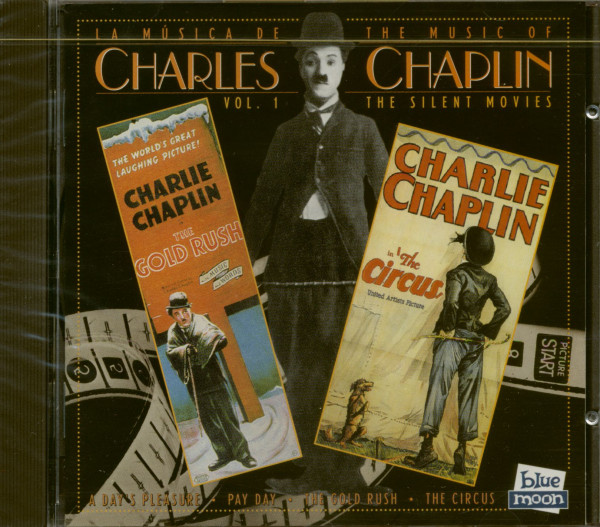The Music Of Charles Chaplin Vol.1 - The Silent Movies (CD)