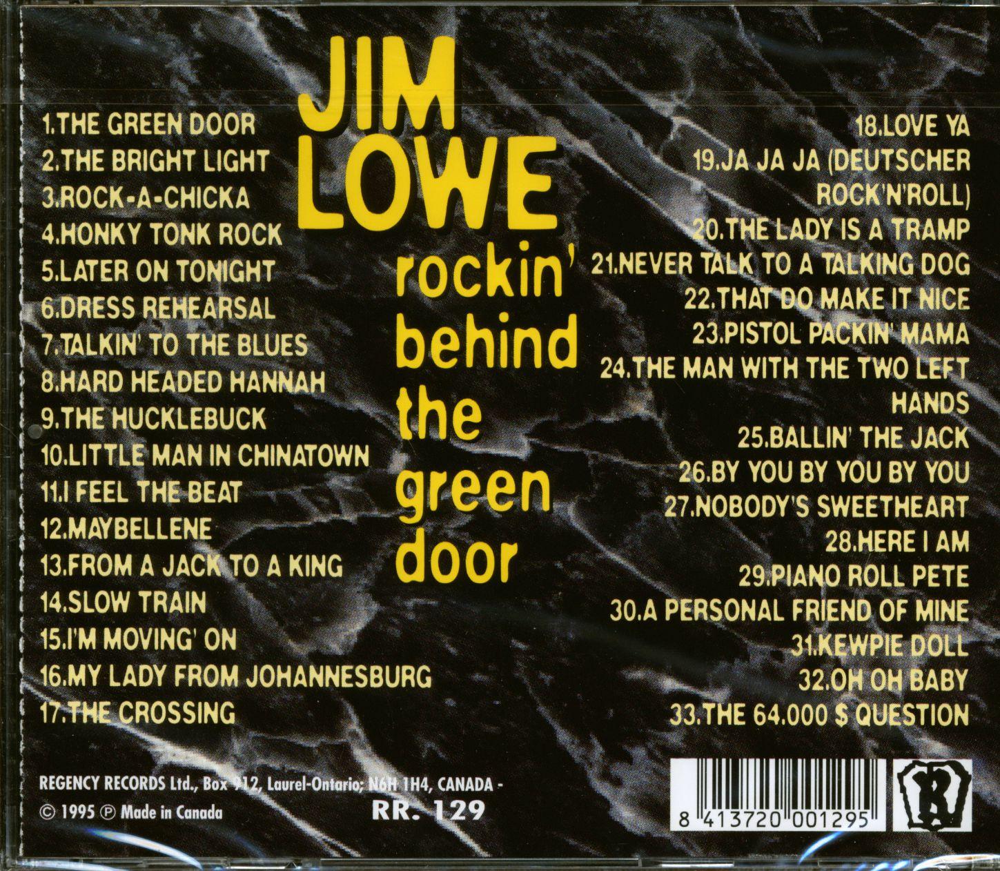 Behind The Green Door Pics jim lowe rockin' behind the green door (cd)