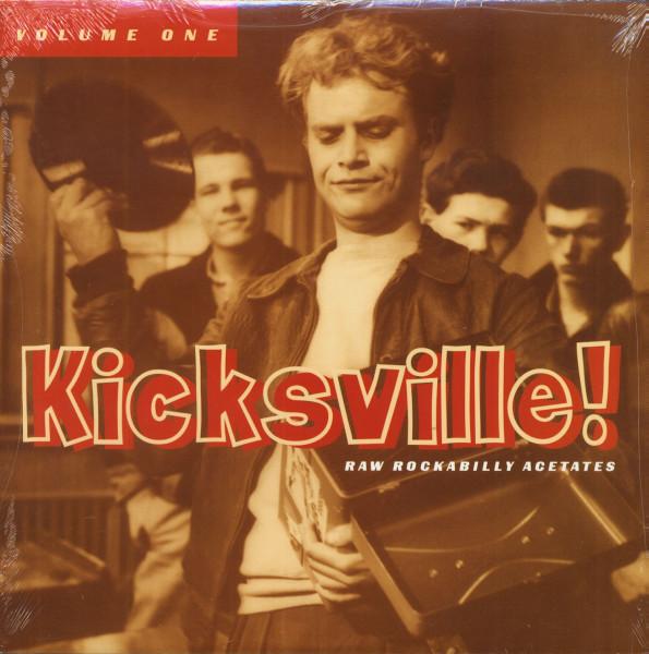 Kicksville! Vol.1 - Raw Rockabilly Acetates (LP)