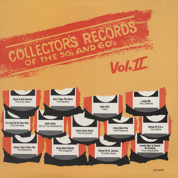 Collector's Records Of The 50s & 60s Vol.2