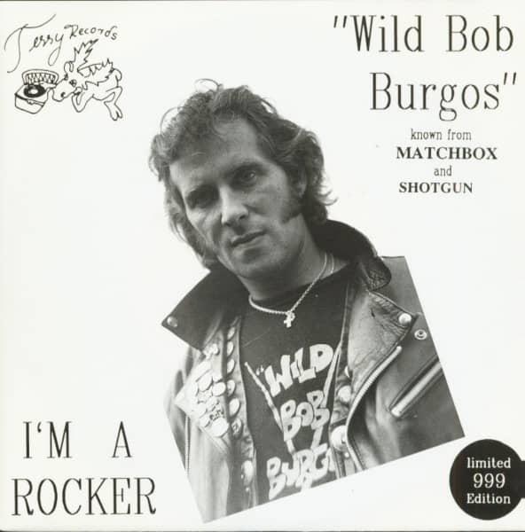 I'm A Rocker (EP, 7inch, 45rpm, PS, BC, Ltd.)