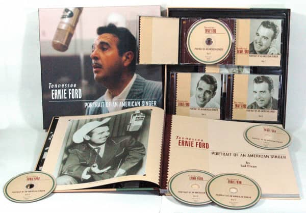 Portrait Of An American Singer 1949-1960 (5-CD Deluxe Box Set)