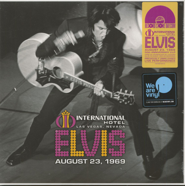 The International Hotel, Las Vegas, Nevada, August 23,1969 (2-LP, RSD)