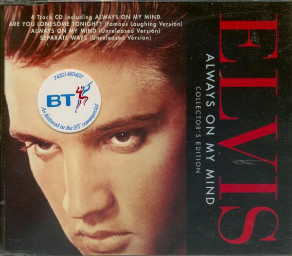 Vol.2, Always On My Mind (GB) - 4 Track Maxi (CD)